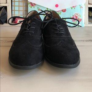 Sonoma velvet Oxford loafers